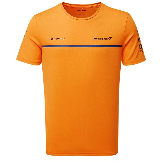 McLaren F1 2019 Kids Team Set Up T-Shirt Orange