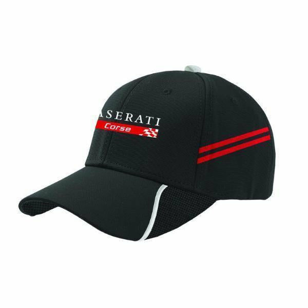Maserati Corse Kids Urban Baseball Hat Black