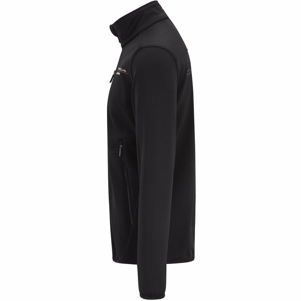 Porsche Motorsport Men's Black Softshell Jacket