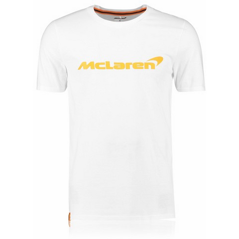 McLaren Renault Formula 1 Men's 2018 Essentials White T-Shirt