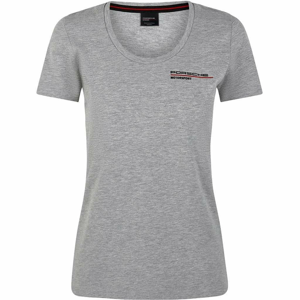Porsche Motorsport Women's Gray T-Shirt