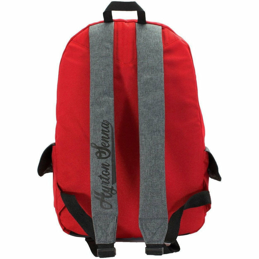 Ayrton Senna Authentic Vintage Red Backpack