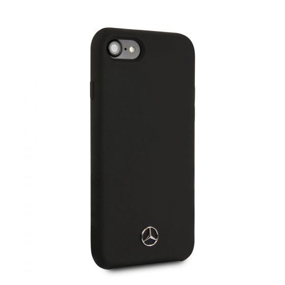 MERCEDES BENZ LIQUID SILICON BLACK CASE