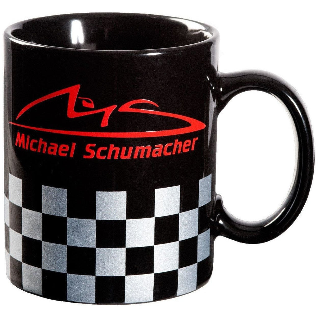 Michael Schumacher Authentic Checkered Mug