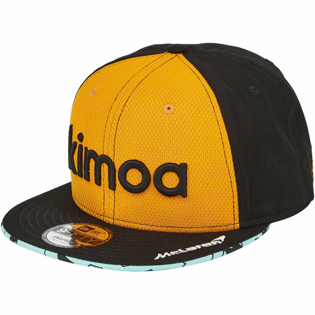 McLaren Official Fernando Alonso Kimoa Cap by New Era - Papaya - Kids