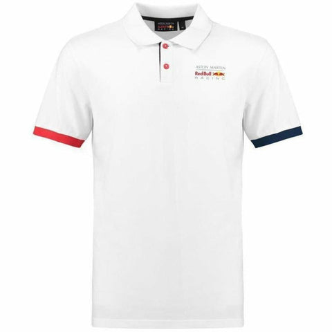 Red Bull Racing Formula 1 Men's White Authentic 2018 Polo F1