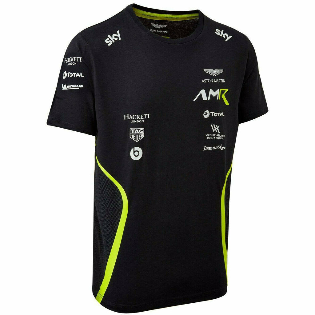 Aston Martin Racing 2020 Men's Team Navy T-Shirt