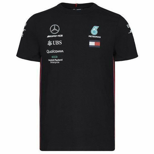Mercedes-AMG Petronas Motorsport 2019 F1 Team T-Shirt Black
