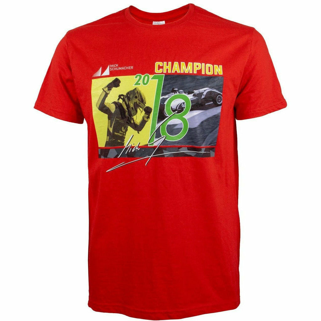 Mick Schumacher 2018 Champion T-Shirt