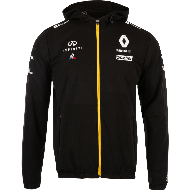 Renault F1 2019 Team Rain Jacket Black