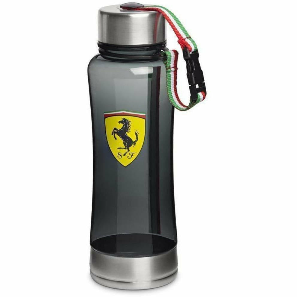 Scuderia Ferrari Formula 1 Black Race Water Bottle F1