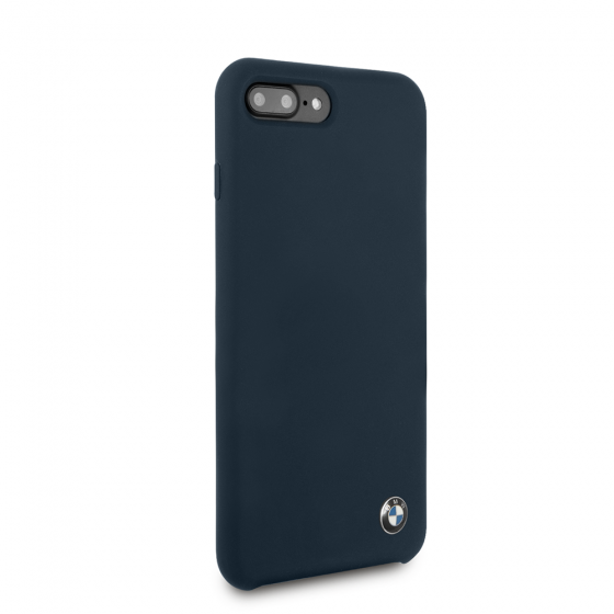 BMW NAVY SILICONE HARD CASE