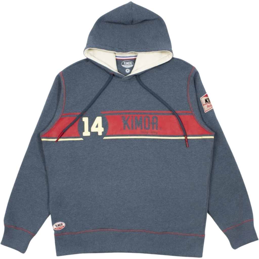 Kimoa Racing 130R Sweatshirt Men's Hoodie- Navy