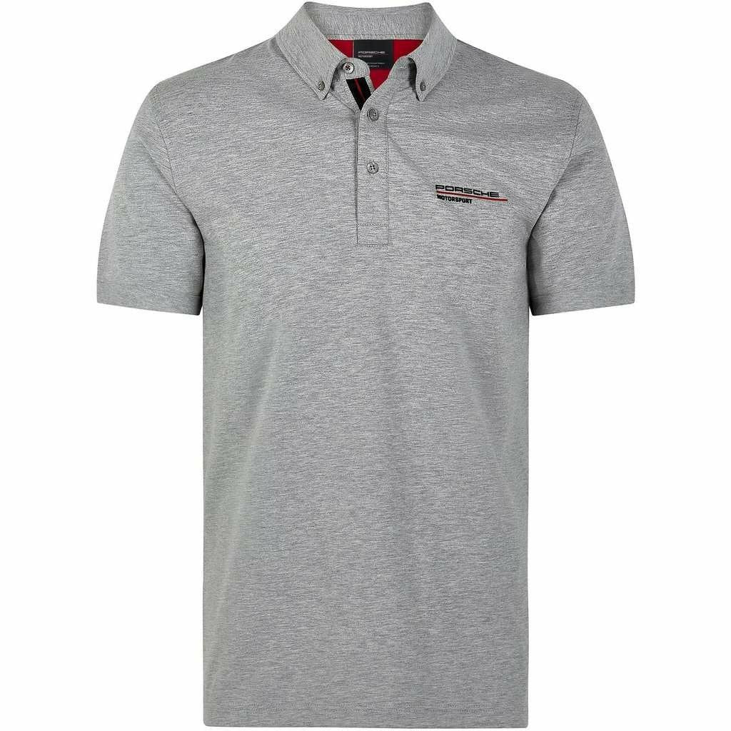 Porsche Motorsport Men's Gray Polo