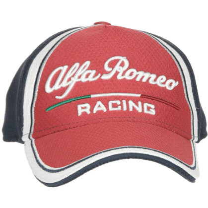 Alfa Romeo Racing F1 2019 Large Logo Team Fitted Hat