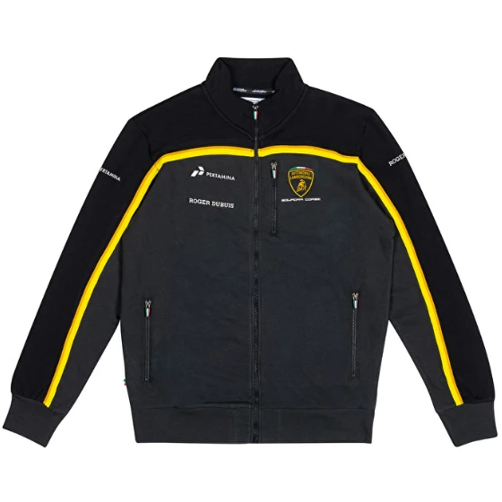 Automobili Lamborghini Gold 2019 Men's Black Sweatshirt