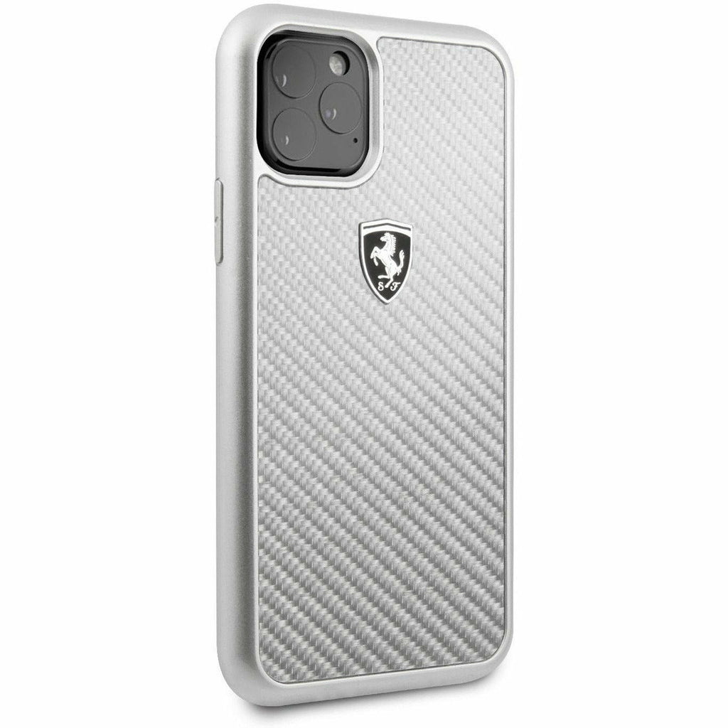 Scuderia Ferrari PHONE CASE FOR IPHONE 11 PRO HARD CASE REAL CARBON FIBER
