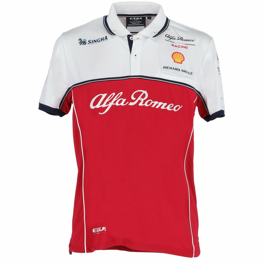 Alfa Romeo Racing F1 2019 Men's Team Polo Shirt
