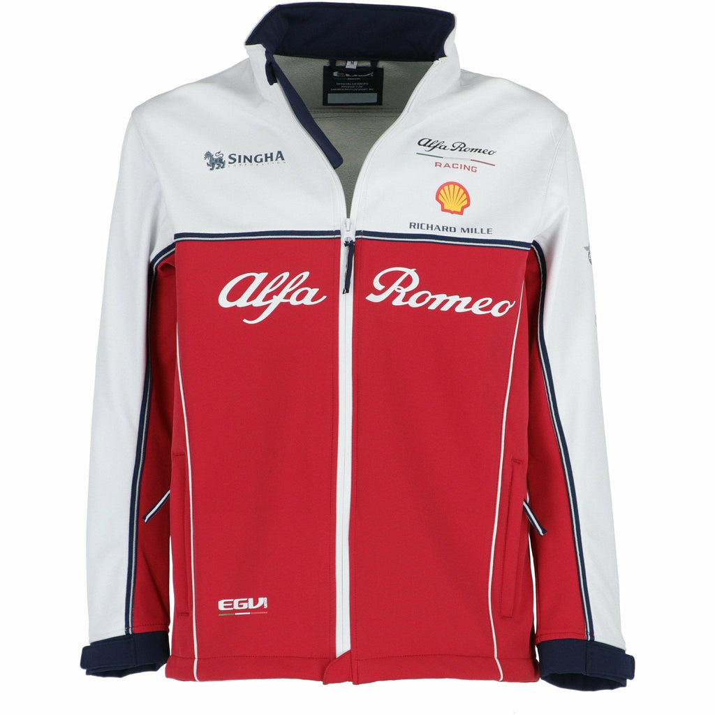 Alfa Romeo Racing F1 2019 Men's Team Softshell Jacket