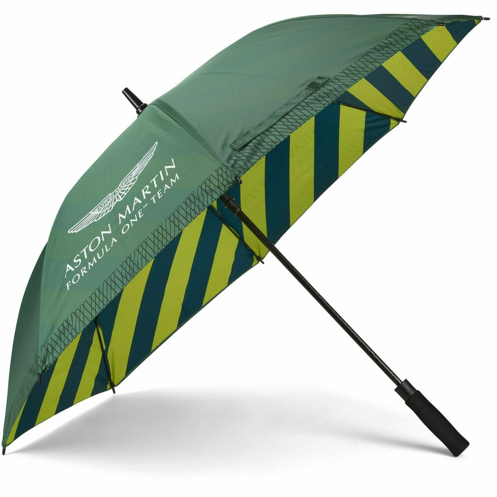 Aston Martin F1 Team Grid Umbrella -Green