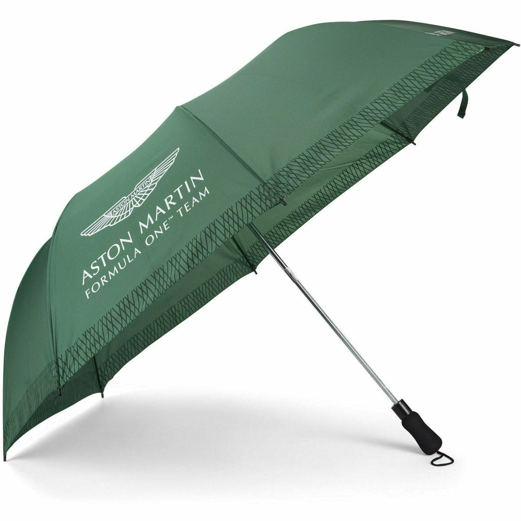 Aston Martin F1 Team Compact Umbrella -Green