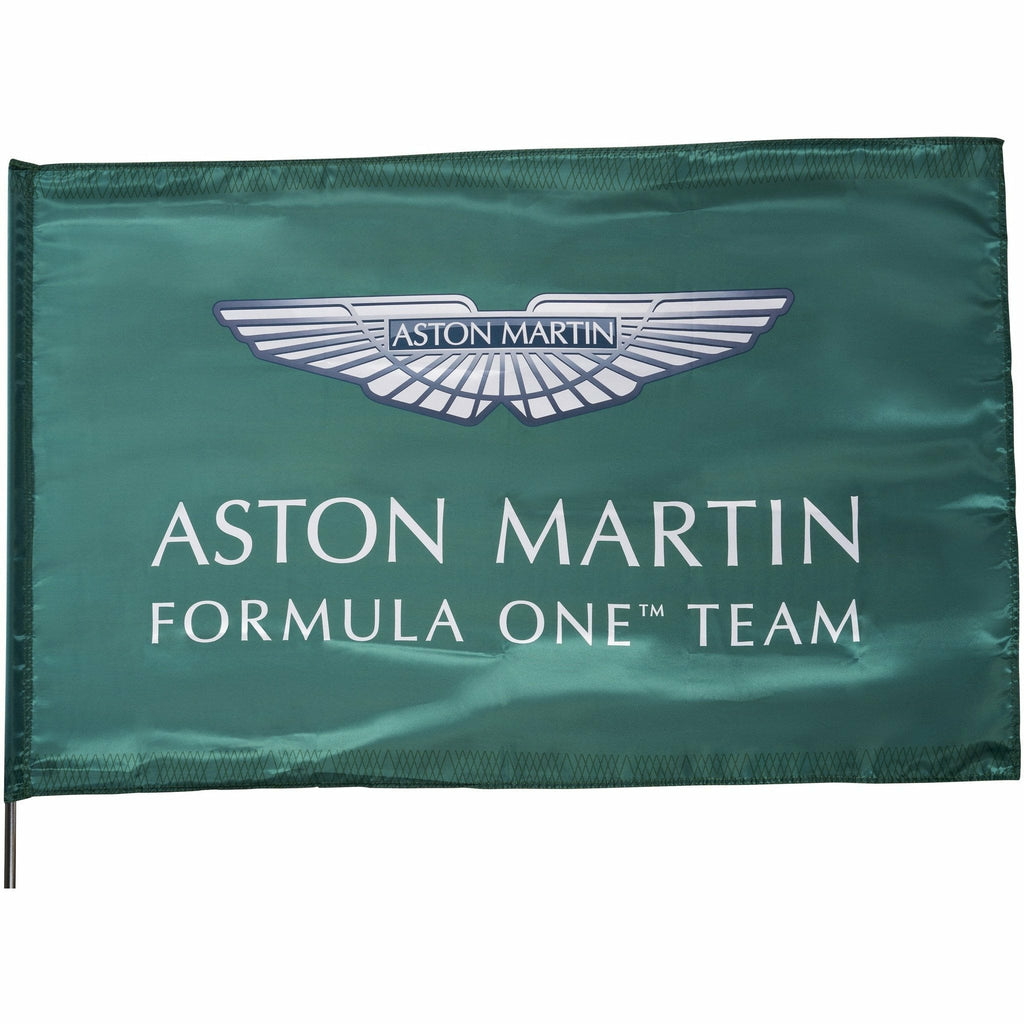 Aston Martin F1 Team Grandstand Flag-Green
