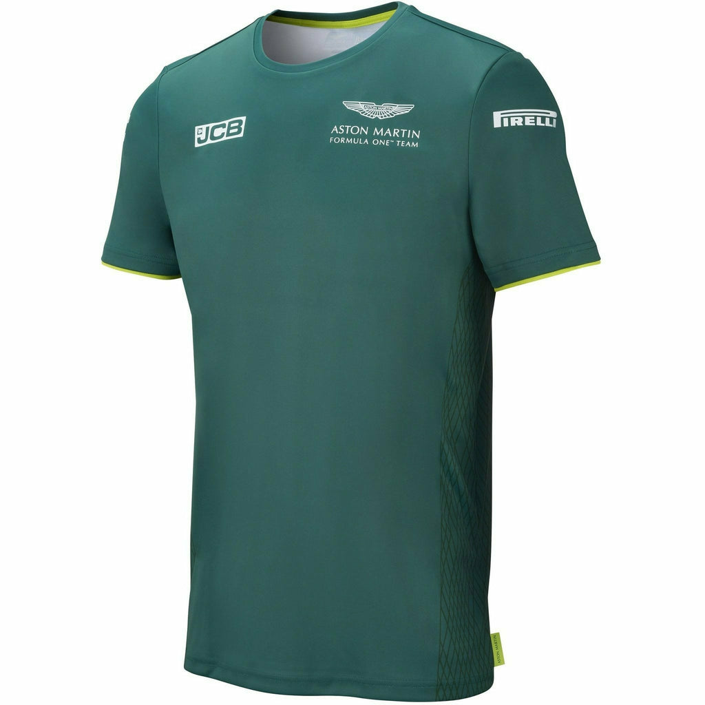 Aston Martin F1 Men's 2021 Team T-Shirt- Green