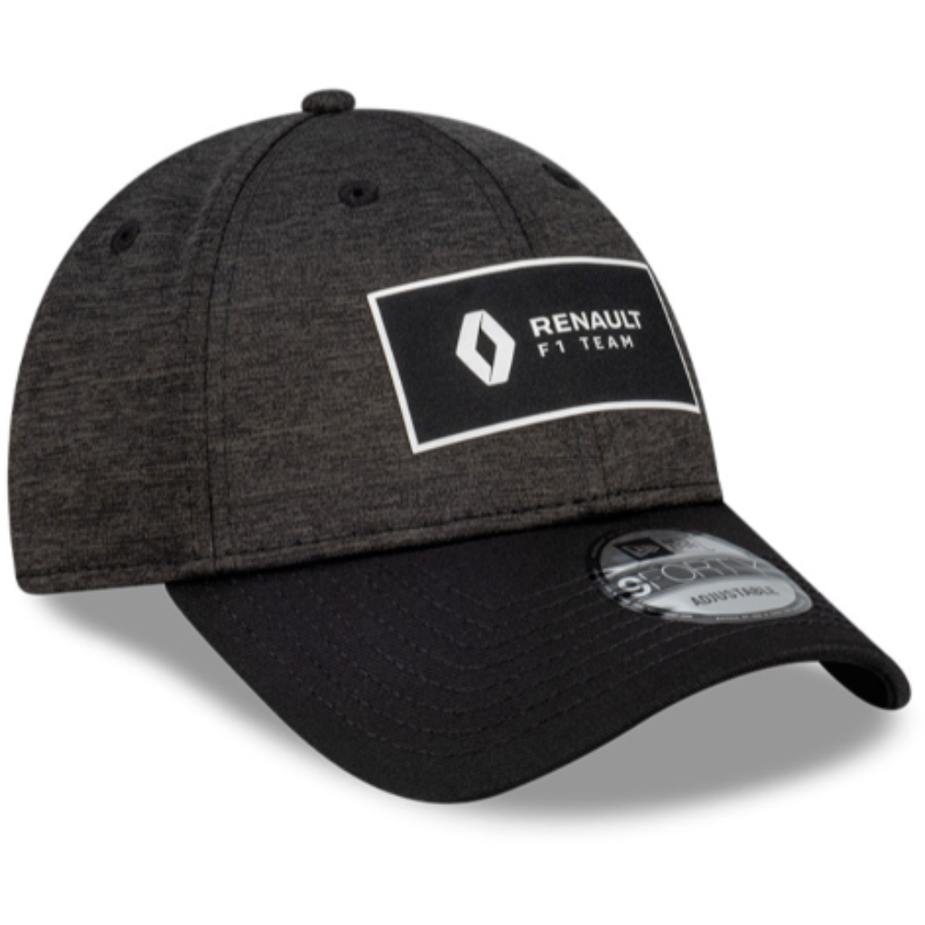 Renault F1 DP World Shadow Tech New Era Hat Black/Gray