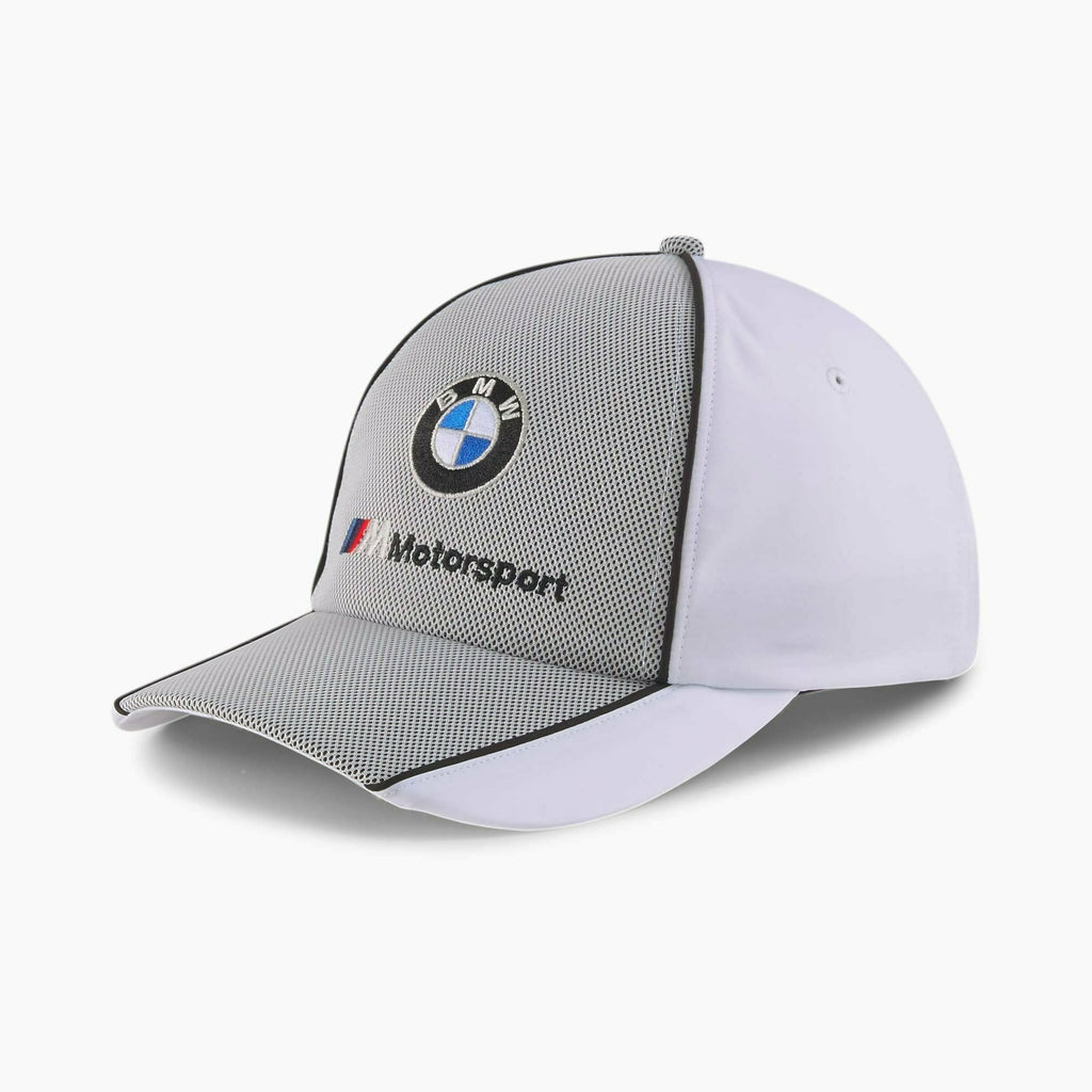 BMW M Motorsport Puma Baseball Hat - Black/White/Navy