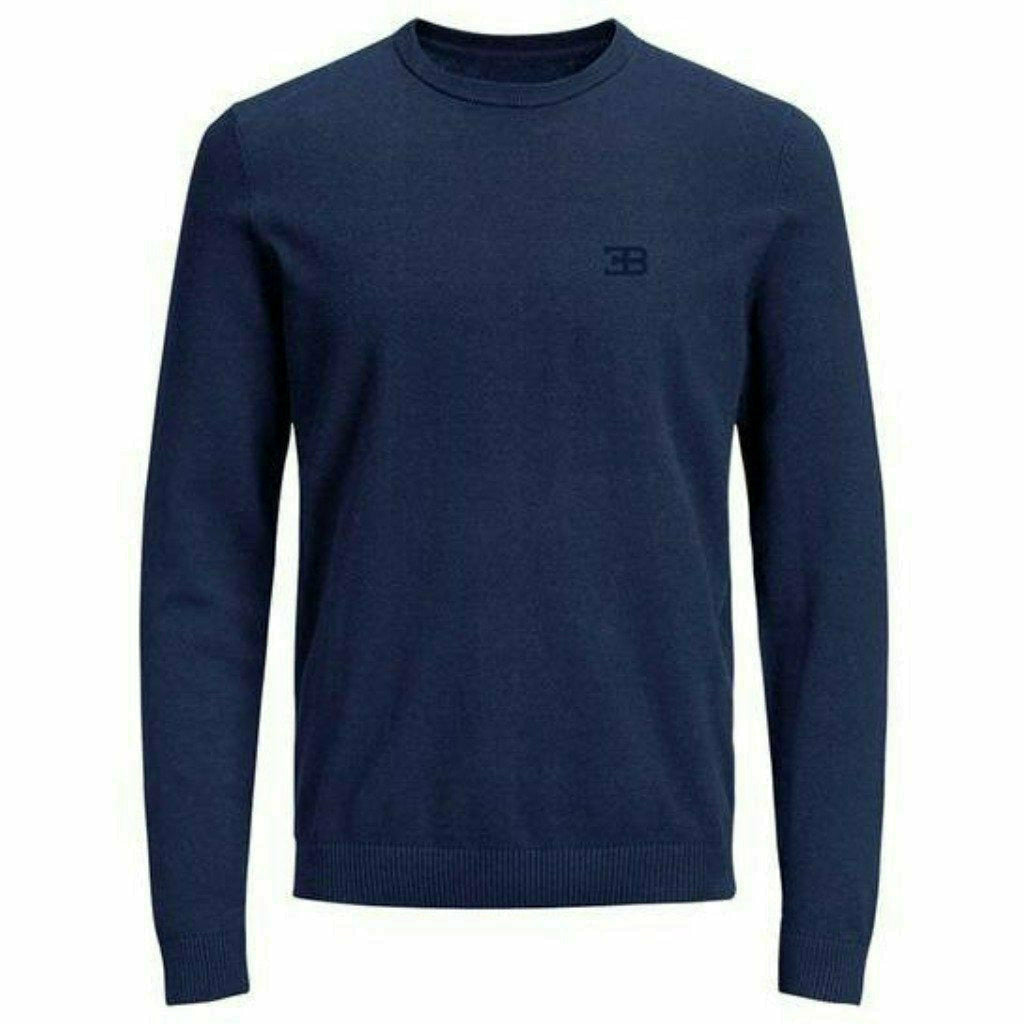 Bugatti Men's Classic Light Sweater Blue