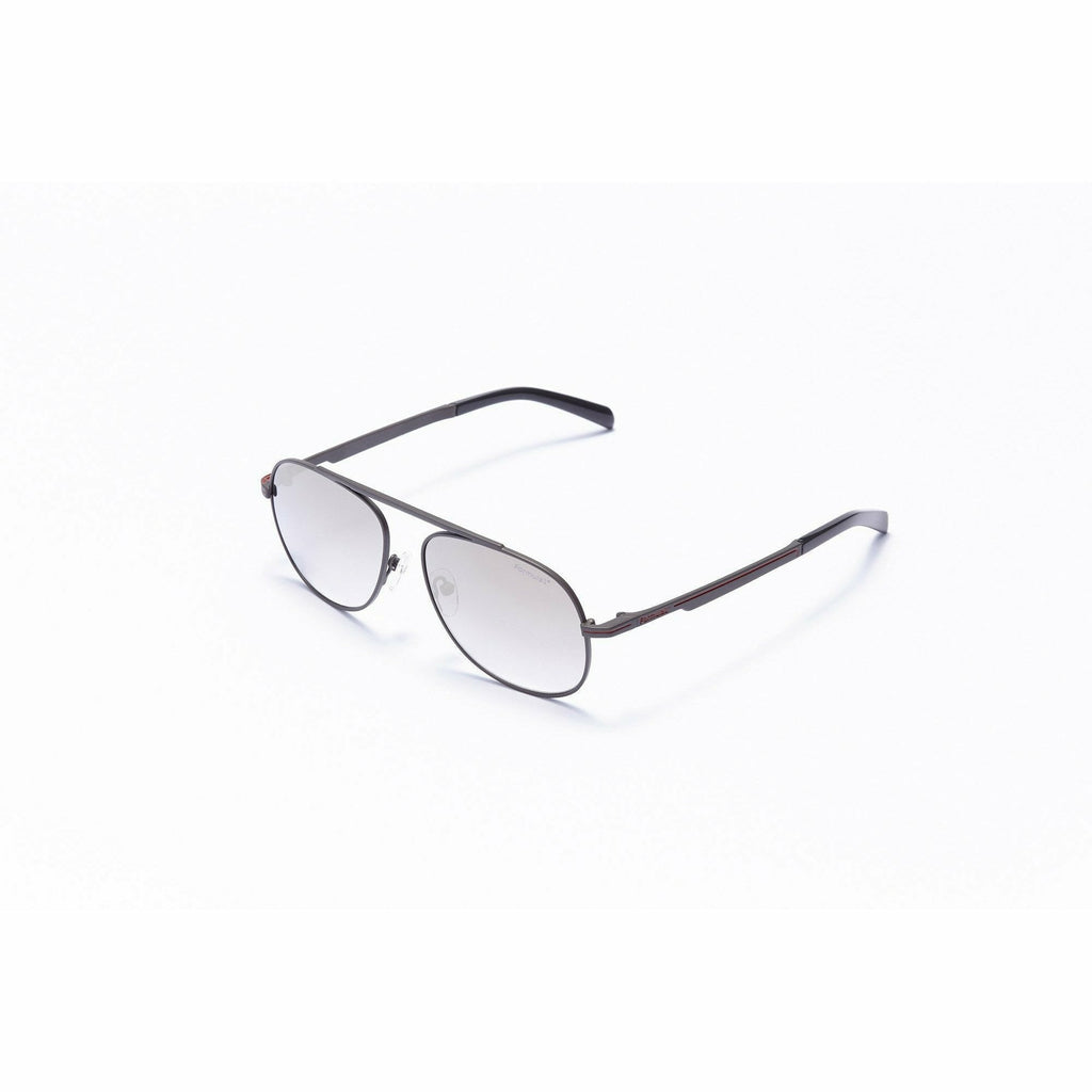 Formula 1 Eyewear Red Collection Blind Curve Matte Gray Unisex Sunglasses-F1S1003
