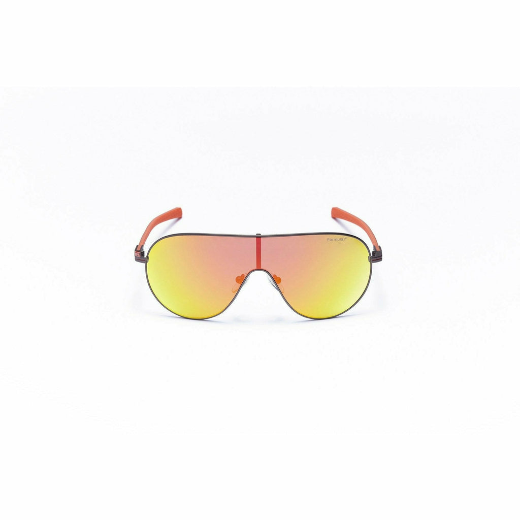 Formula 1 Eyewear Gold Collection Hospitality Matte Dark Gunmetal Unisex Sunglasses-F1S1012