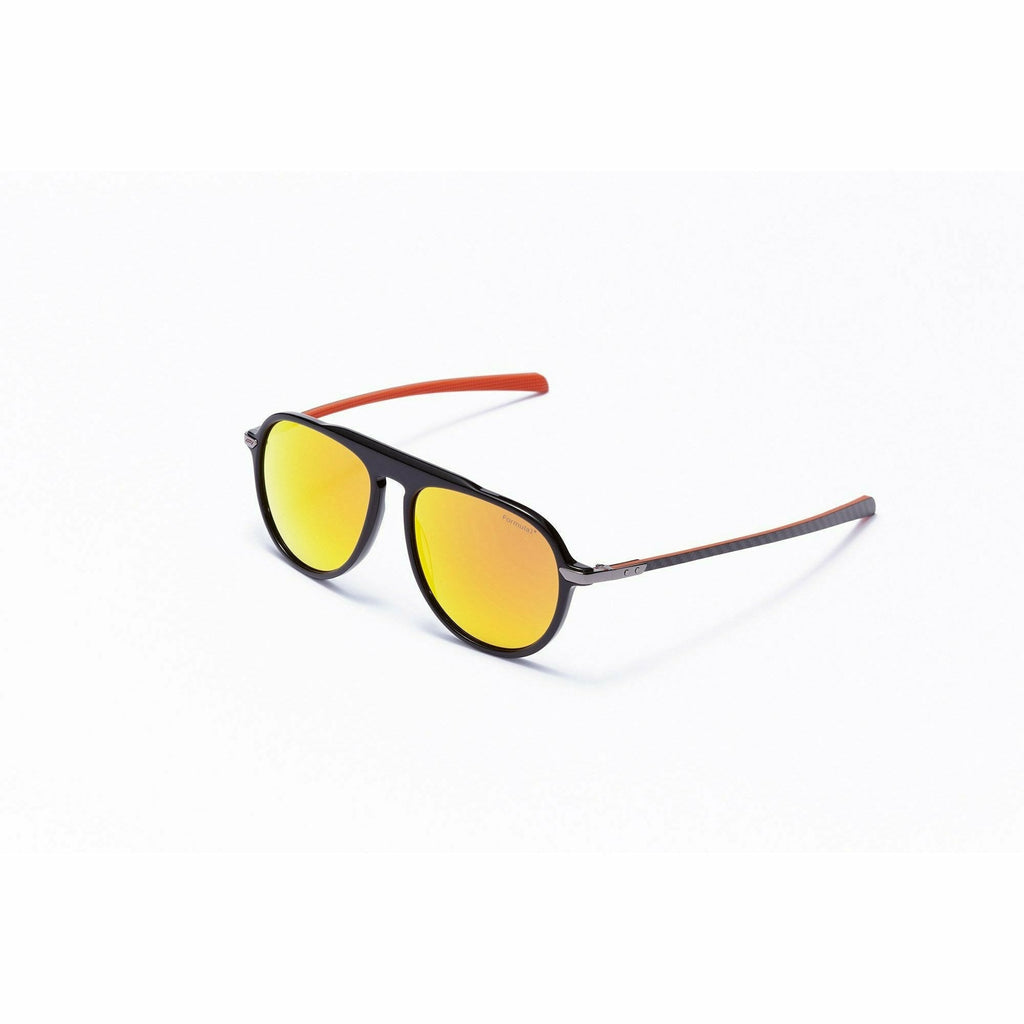Formula 1 Eyewear Gold Collection Final Lap Black Unisex Sunglasses-F1S1043