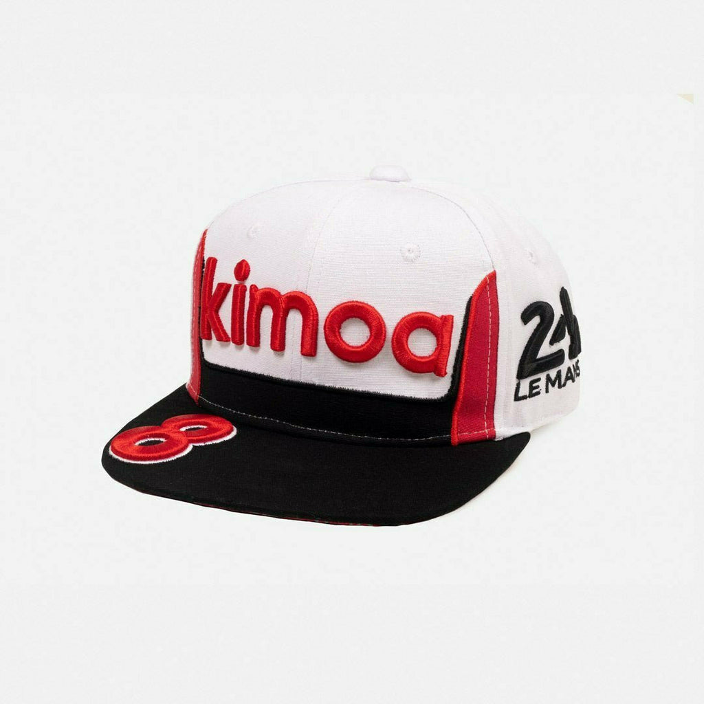 Kimoa Racing Fernando Alonso 24H Le Mans #8 Hat -White