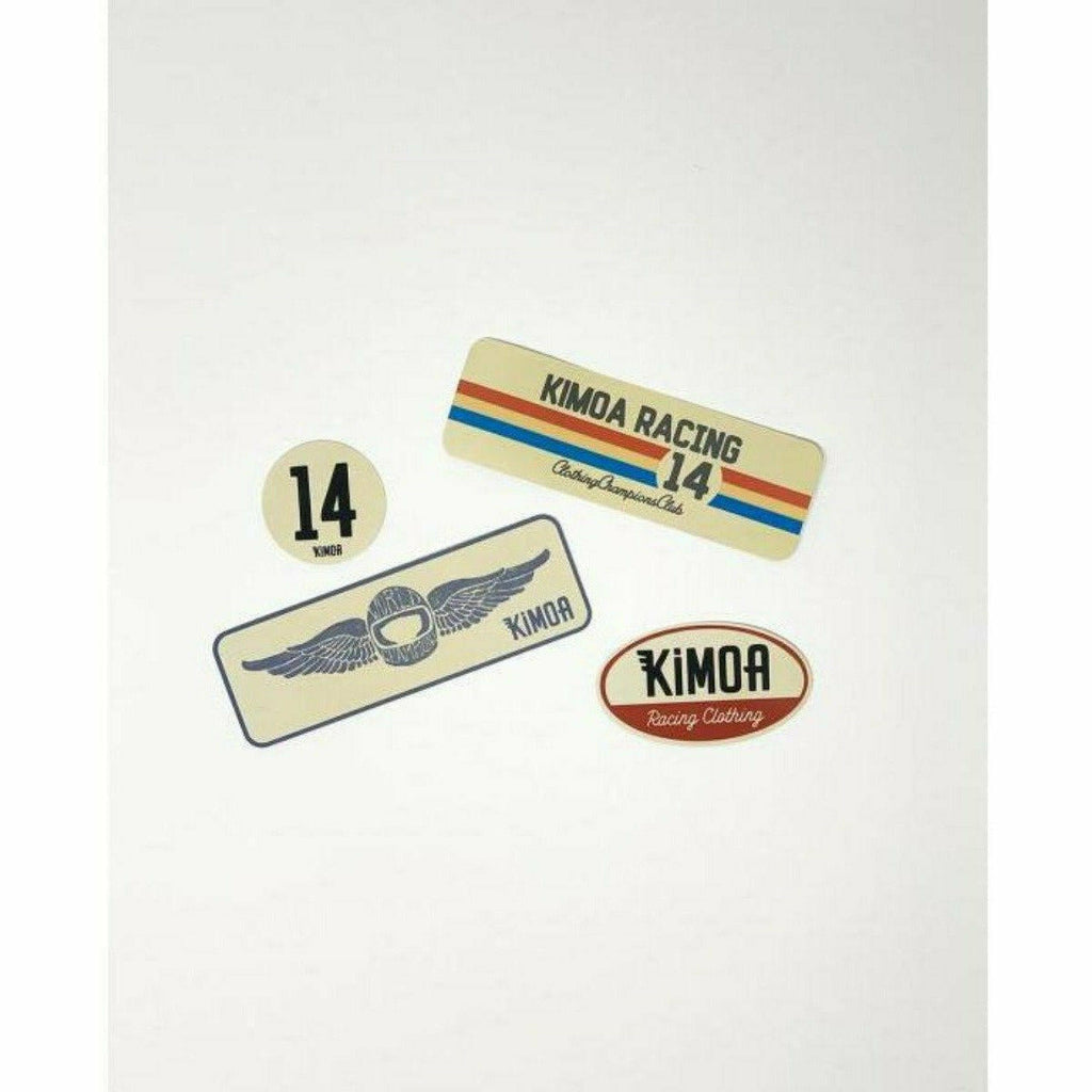 Kimoa Racing Retro Pack Sticker Set