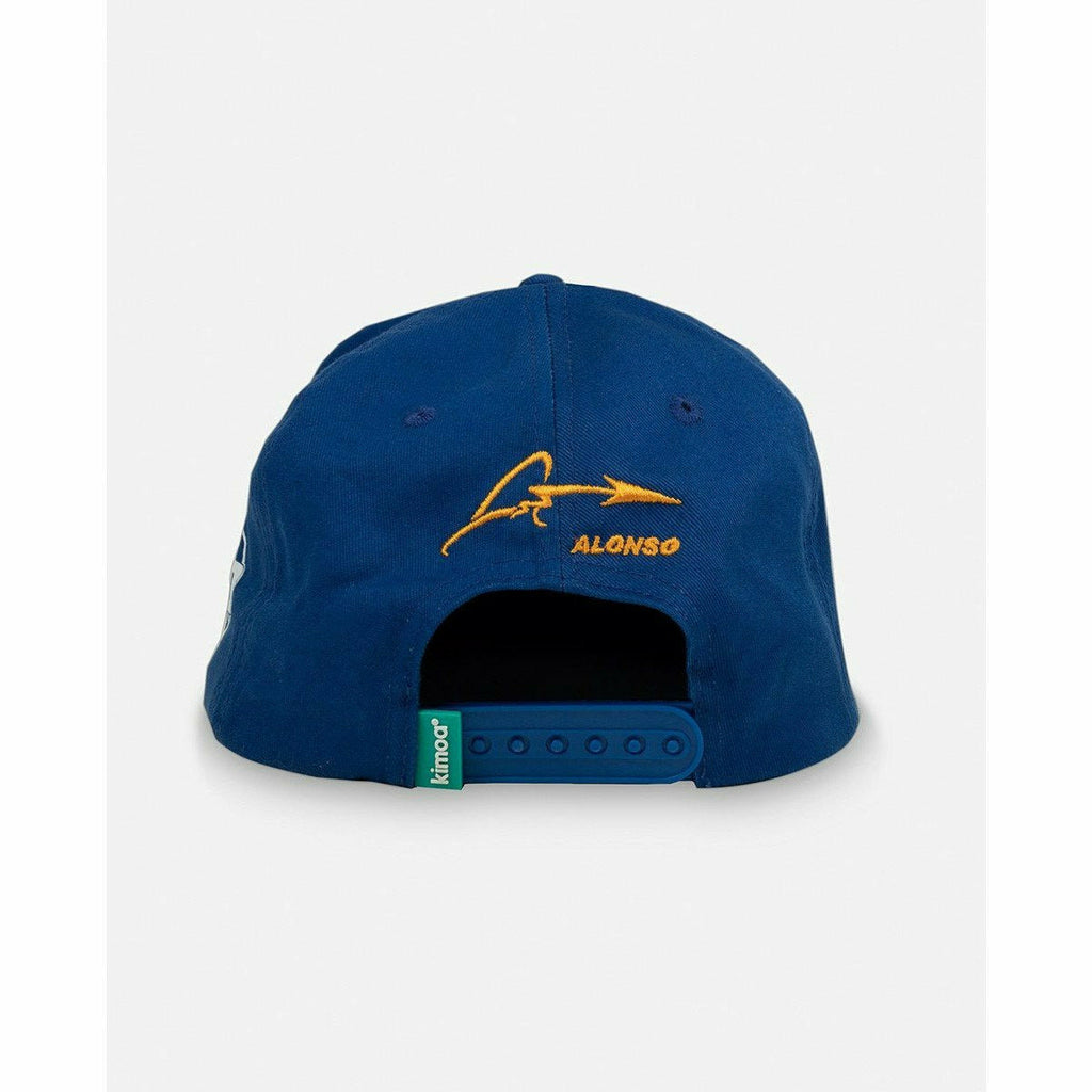 Kimoa Racing Fernando Alonso Indy 500 Flatbrim Hat