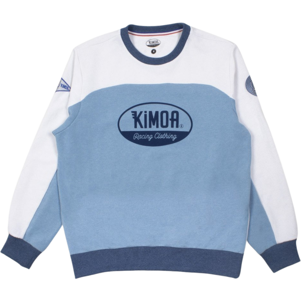 Kimoa Racing Club Men's Sweatshirt -Light Blue