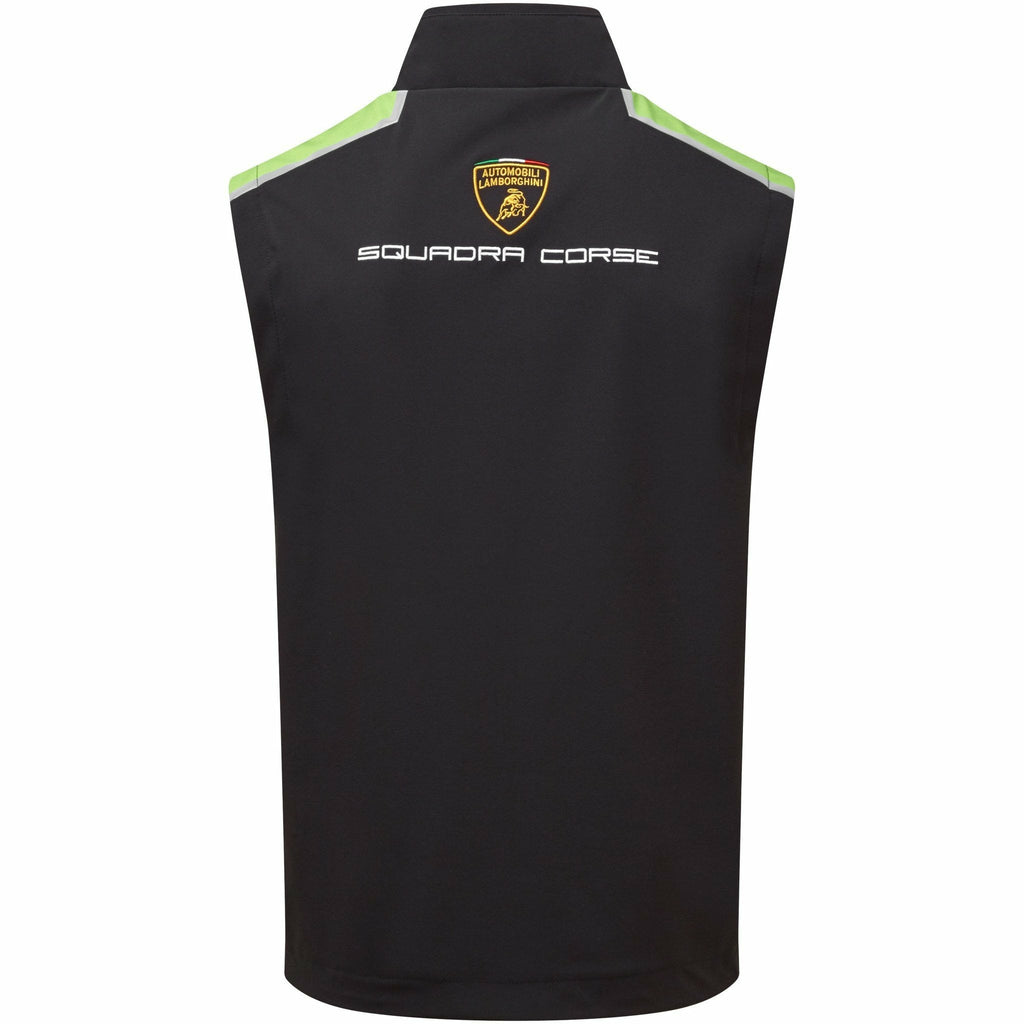 Automobili Lamborghini Squadra Corse 2020 Men's Team Padded Vest Black