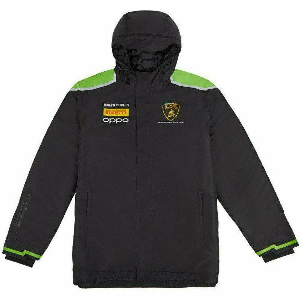 Automobili Lamborghini Squadra Corse 2020 Men's Team Winter Jacket Black