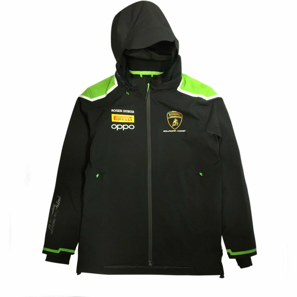 Automobili Lamborghini Squadra Corse 2020 Men's Team Lightweight Jacket Black