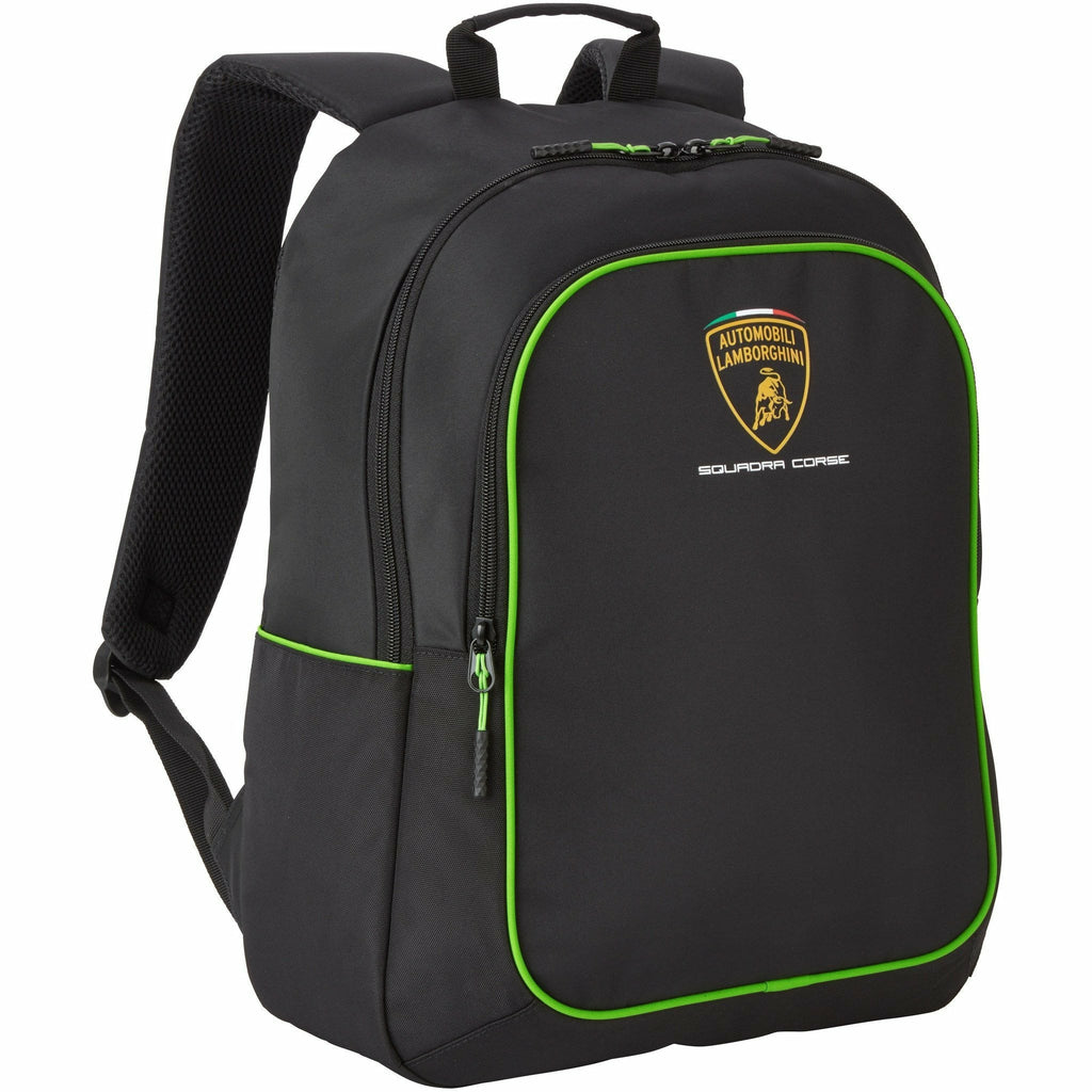 Automobili Lamborghini Squadra Corse Backpack Black