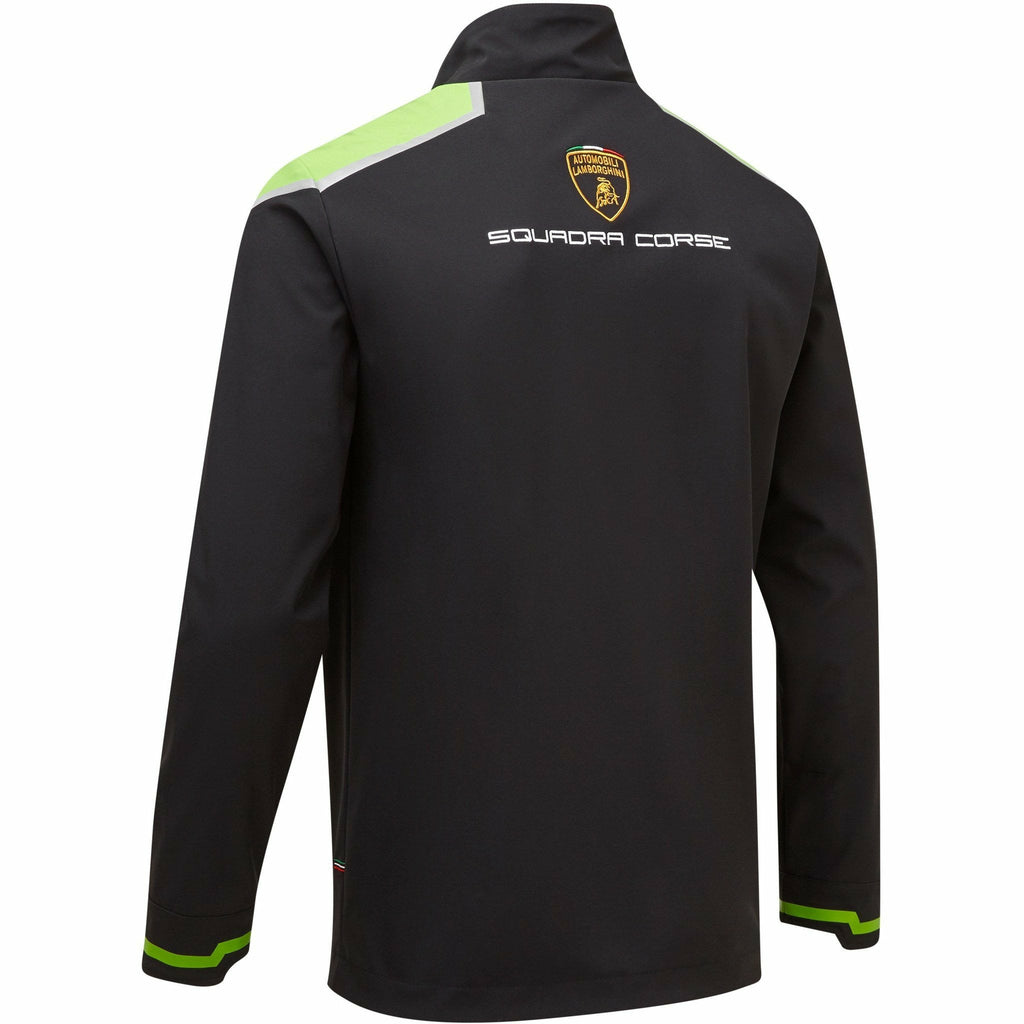 Automobili Lamborghini Squadra Corse 2020 Men's Team Softshell Jacket Black