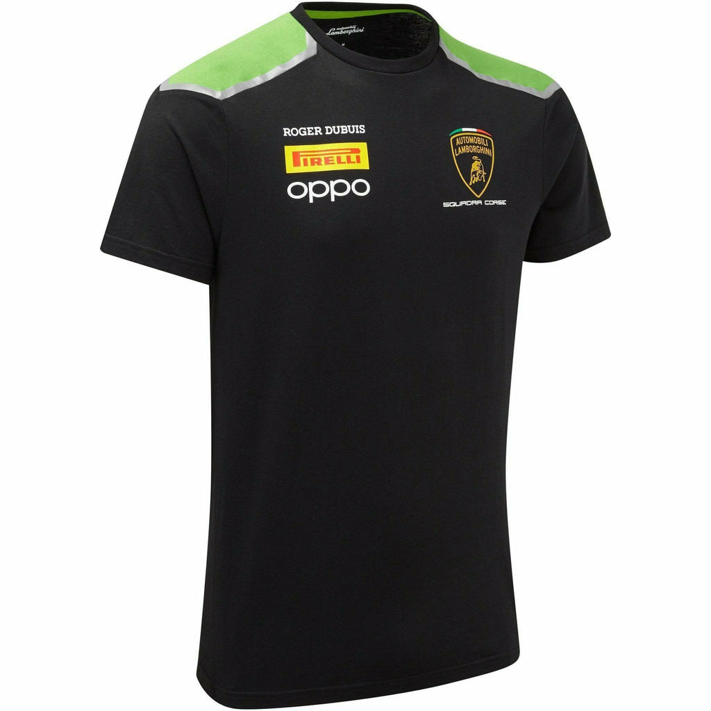 Automobili Lamborghini Squadra Corse 2020 Men's Team T-Shirt Black