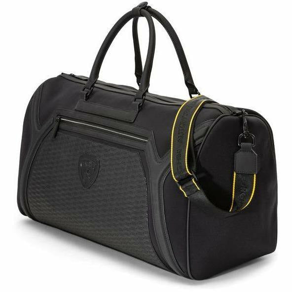 Automobili Lamborghini Travel Weekender Bag Black
