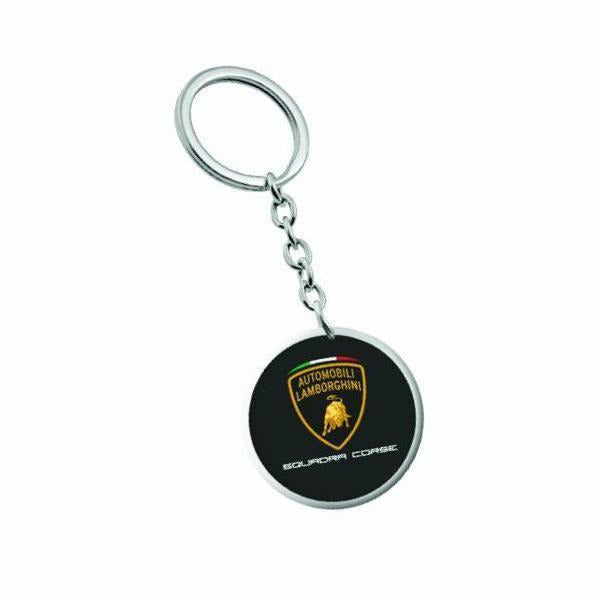 Automobili Lamborghini Squadra Corse 2019 Key Holder Metal Black