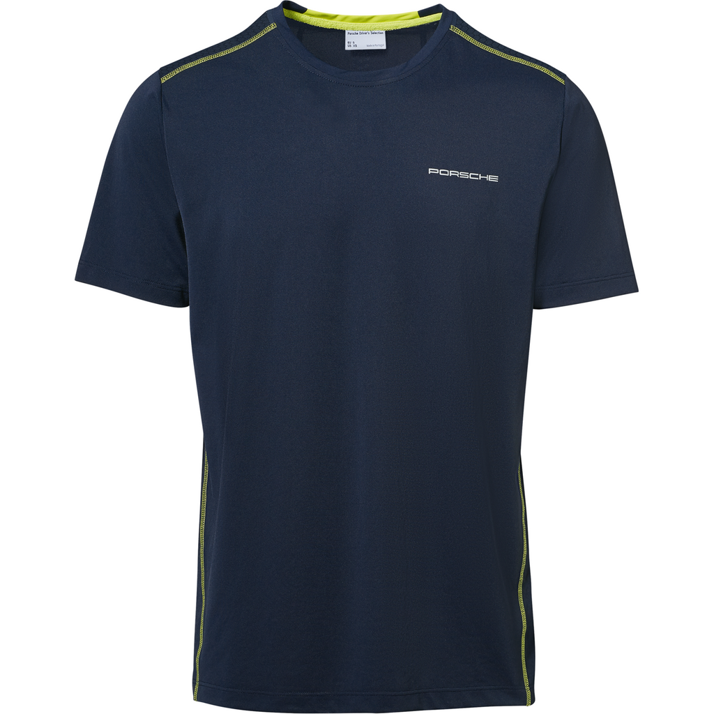 Porsche Design Driver's Selection Men's Sport T-Shirt - Dark Blue
