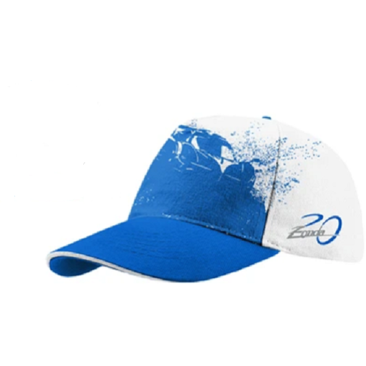 Pagani Zonda 20th Revolution Cap White & Blue