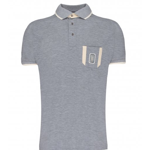 Maserati Classiche 1914 Men's Polo, Grey