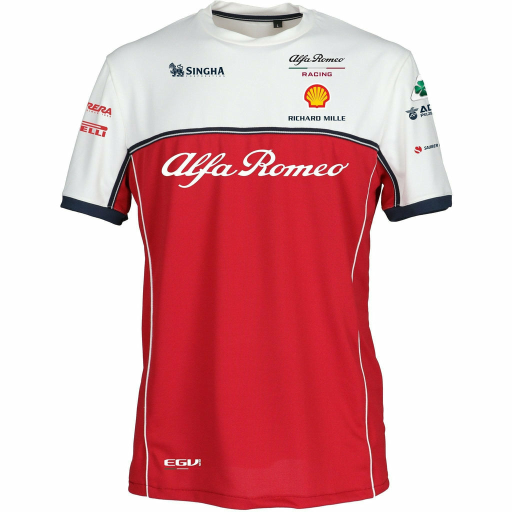 (PRE-ORDER) Alfa Romeo racing F1 Kids 2019 Team T-Shirt