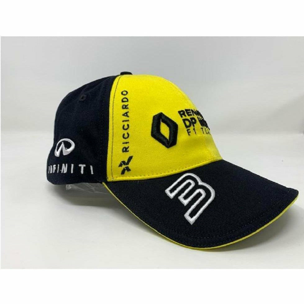 Renault F1 2020 Team Kid's Daniel Ricciardo Hat Yellow